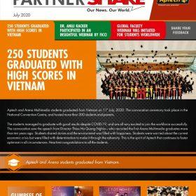 """Lễ Tốt nghiệp sinh viên FPT Aptech chiếm """"spotlight"""" báo Aptech Global"""