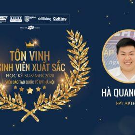 Hà Quang Huy: Biến áp lực từ Quán quân Techtrons