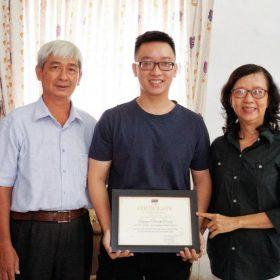 Câu chuyện về chàng trai ngoại thương đam mê công nghệ trở thành sinh viên xuất sắc tại FPT Aptech và hoài bão cho tương lai