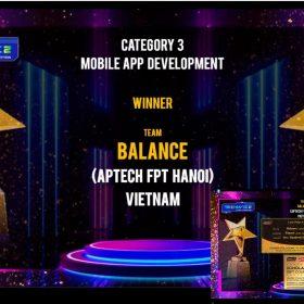 """FPT Aptech Việt Nam """"phá đảo"""" hoàn toàn TechWiz 2021 với 4 giải thưởng khủng"""