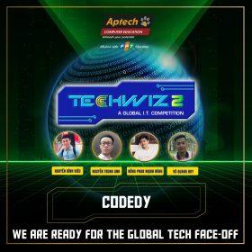 CODEDY – 4 chàng lập trình viên FPT Aptech bước lên ngôi vương TechWiz 2