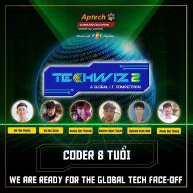 Coder 8 Tuổi chinh phục ngôi vị á quân tại cuộc thi quốc tế – TechWiz 2