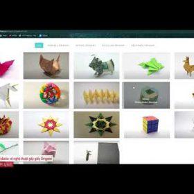 OrigaME – Website về nghệ thuật gấp giấy Origami – Đồ án HK 1 – SV FPT Aptech